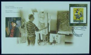 3333   Canada   FDC   # 1800   Masterpieces of Canadian Art - 12   CV$ 2.50