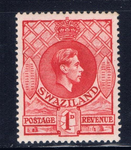 Swaziland 28 NH 1938 issue perf 13.5 x 14