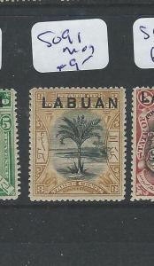 LABUAN  (PP2701B) TREE 3C  SG 91  MOG
