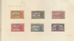 INDIA 1931 GEORGE 5TH NEW DELHI SET MINT