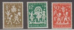 Netherlands Scott #B360-B361-B362 Stamps - Mint NH Set
