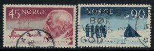 Norway #399-400  CV $2.75