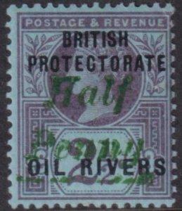 Niger Coast 1893 SC 13 Mint