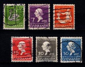 Denmark 1935 Centenary Hans Christian Anderson's Fairy Tales Set [Used]
