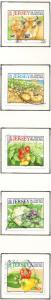 Jersey  Sc 981ga-e 2003 Agricultural Products stamp set used