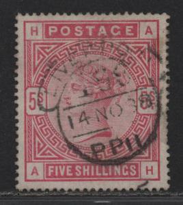 $Great Britain Sc#108 used, VF-XF sound stamp, Cv. $250