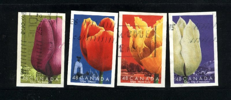 Canada #1946a-d  -2  used VF 2002 PD