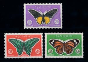 [70966] Cambodia 1969 Insects Butterflies  MNH