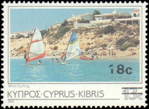 Cyprus #684-685, Complete Set(2), 1986, Never Hinged