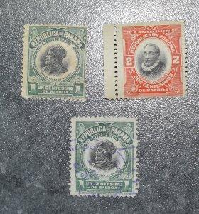 PANAMA  Stamps   coms  1909    ~~L@@K~~
