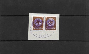 1945 FREDERSDORF OVERPRINTS ON SMALL PIECE