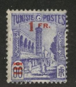 Tunis Tunisia Scott 148 surcharged 1930 issue used