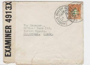 CARRAIG DHUBH ,  IRELAND TO BLACKPOOL 1941 CENSOR COVER, REF 1117