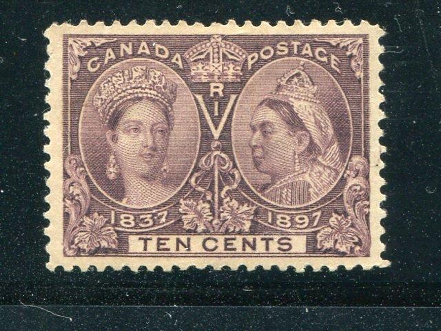Canada #57  Mint  XF  -  Lakeshore Philatelics
