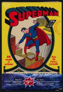 Canada UX360-4 set of 5 postcards MNH Superman, Images Like Booklet covers