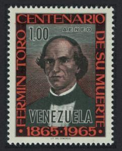 Venezuela Death Centenary of Father Fermin Toro 1v SG#1922 SC#C911