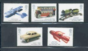 Great Britain Sc 2153-7 2003 Children's Toys stamp set mint NH