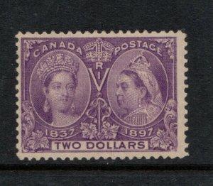 Canada #62 Mint Fine Original Gum Hinged