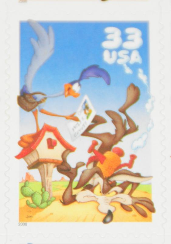 2000 sheet Road Runner & Wile E. Coyote Sc# 3391
