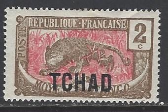 Chad Sc # 2 mint hinged (RS)