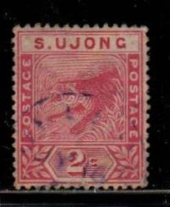 Malaya - Sungei Ujong Scott 31 Used (Catalog Value $35.00)
