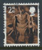 GB Regional Wales SG W98 SC#20   2nd Class  Used     see details