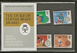 1981 THE DUKE OF EDINBURGH'S AWARD PRESENTATION PACK 128