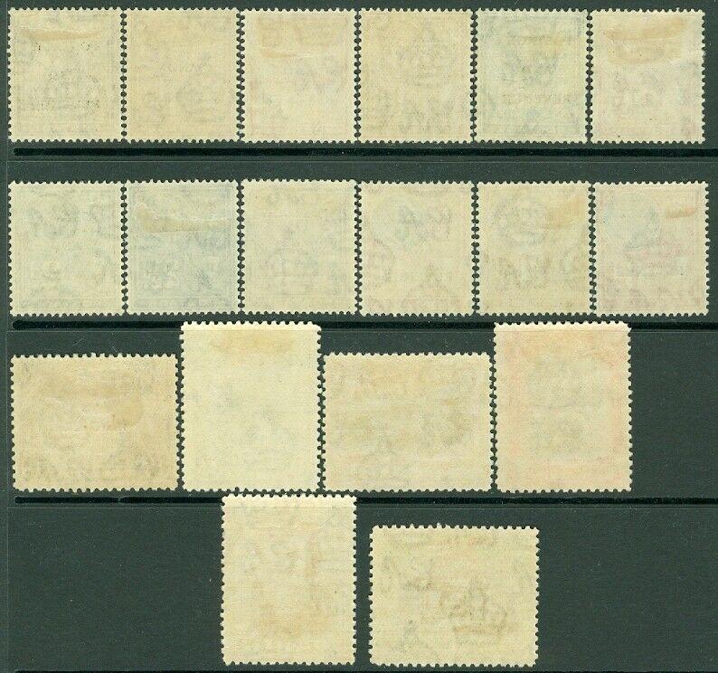 EDW1949SELL : MALTA 1928 Sc #148-65 Fresh & VF MOG. 2 low values used Cat $152.