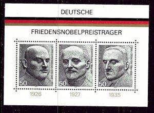 Germany 1203 MNH 1975 German Nobel Prize Winners    (ap4207)