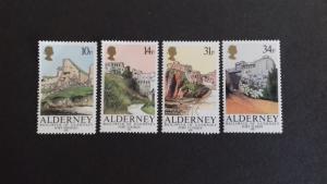 Alderney 1986 Forts Mint