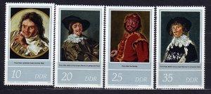 J22727 Jlstamps 1980 germany ddr set mnh #2132-5 paintings