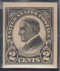 U.S. Scott #611 Harding Stamp - Mint Single