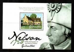 Gibraltar #1134  MNH  Scott $13.50   Souvenir Sheet