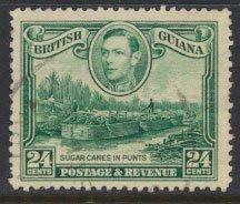 British Guiana SG 312a  wmk sideways Used (Sc# 234 see details)