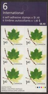Canada - 2003 $1.40 Maple Leaf Booklet #BK283