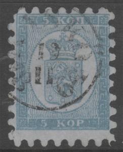 Finland 4 Kasko Cancel Rare ! 5 Kop 1860 ! No Faults Extra Fine