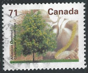 Canada #1370 71c Trees - American Chestnut