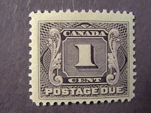 CANADA # J1-MINT/HINGED---SINGLE---POSTAGE DUE---1906