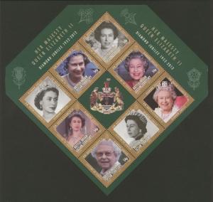 British Indian Ocean Territory Sc# 445a MNH Diamond Jubilee