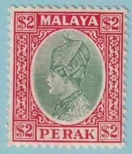 MALAYA PERAK 82 MINT HINGED OG *  NO FAULTS EXTRA FINE!