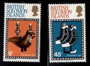 British Solomon Islands Scott 226-227 MNH** set