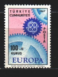 Turkey. 1967. 2044 from the series. Europe Sept. MNH.