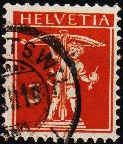 Switzerland. 1910 3c S.G.255 Fine Used