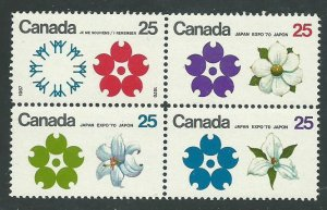 Can 511a   Block  M NH VF 1970 PD