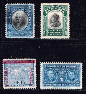 PANAMA STAMP USED STAMPS COLLECTION LOT