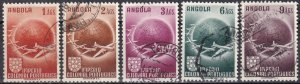 Angola #C21-5   F-VF Used CV $3.85  (Z6342)