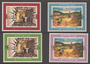 Montserrat 274-277 Mint VF LH