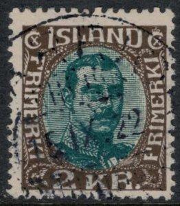 Iceland #127  CV $37.50