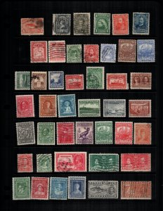 Newfoundland  42 diff Used and mint  hinged