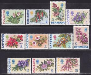 Bermuda Scott # 255-271 VF never hinged set scv $ 54 ! see pic !